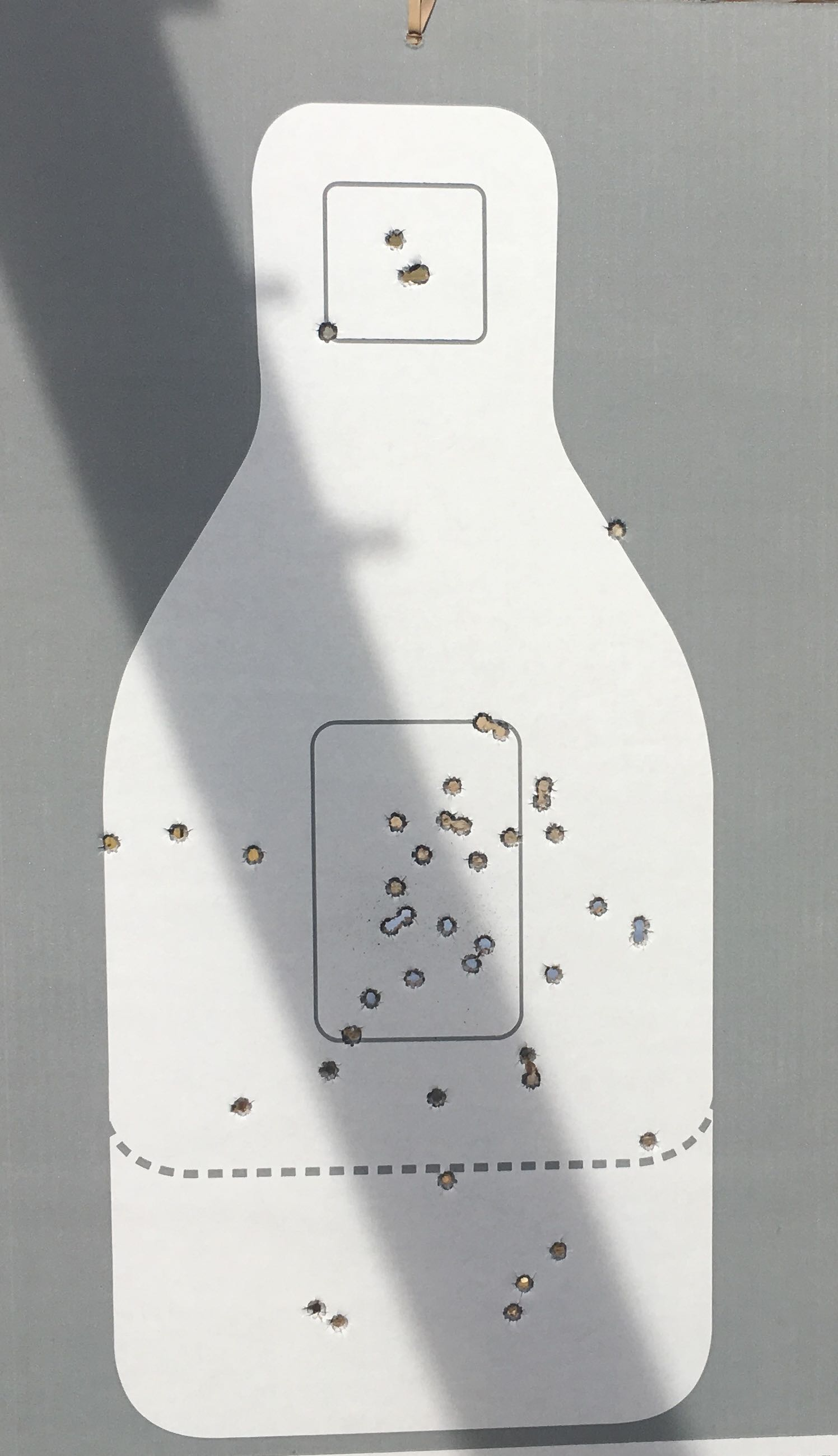 c60aae58bf28 Above is my 7-yard five circle drill target. All things considered (small  sights