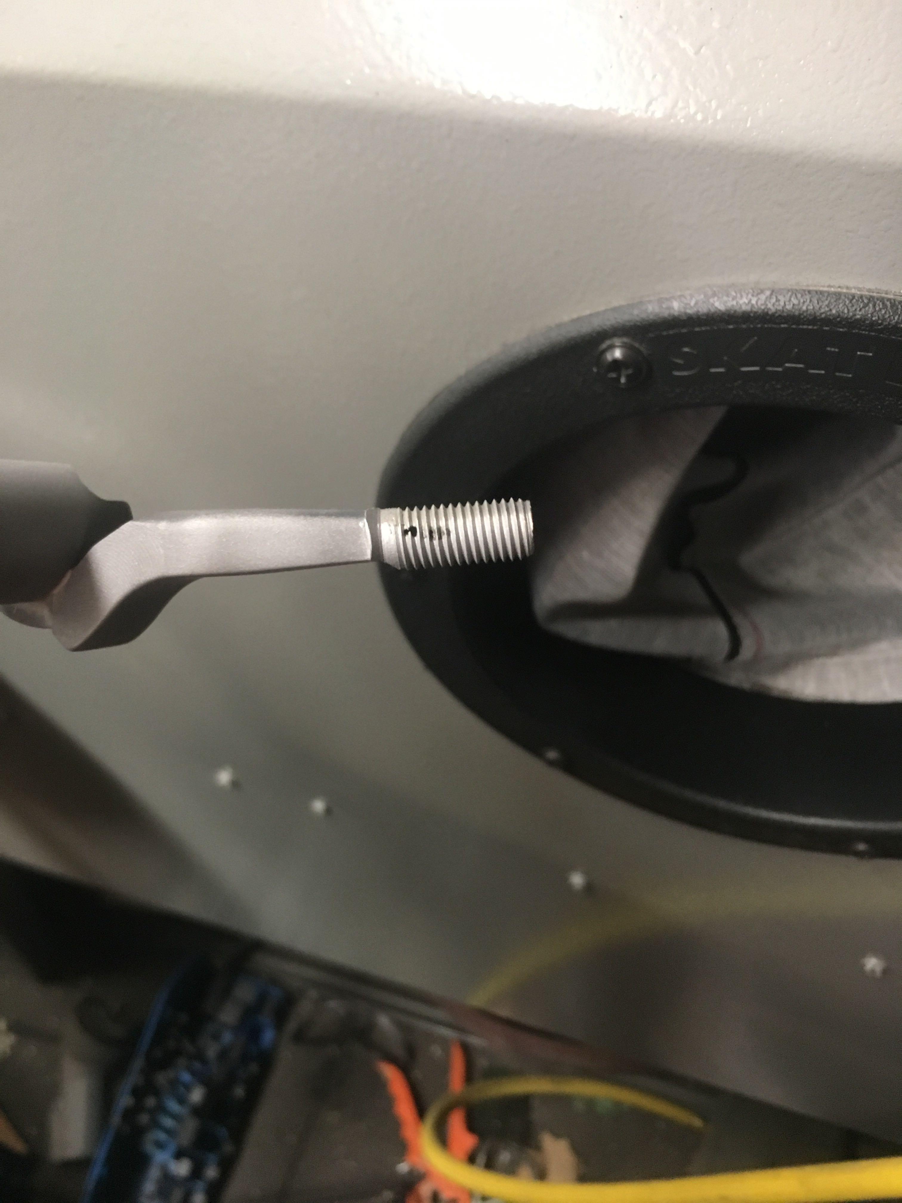 Tactical Operations bolt knob installation on a Remington 700