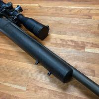 Rifle stock QD stud repair for bipod