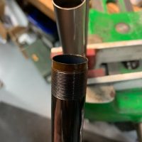 Removing stuck choke tubes