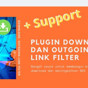 Gambar Produk Plugin Download Dan Outgoing Link Filter Wordpress Plus Layanan Support