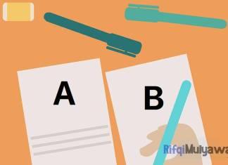 Ilustrasi Gambar Contoh A/B Testing (Pengujian A/B)