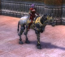 RIFT Nimble Gold Eldritch Steed Bridle (Escalating) Mount