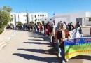 Amazigh-Studenten protestieren in Nador gegen die marokkanische Politik im Rif