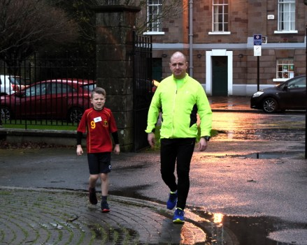 me and lee at parkrun