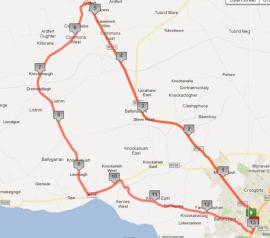 Tralee Marathon Half Route