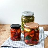 Syltede chilier - to forskellige opskrifter