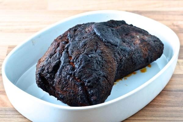 Pulled pork i ovn med coleslaw