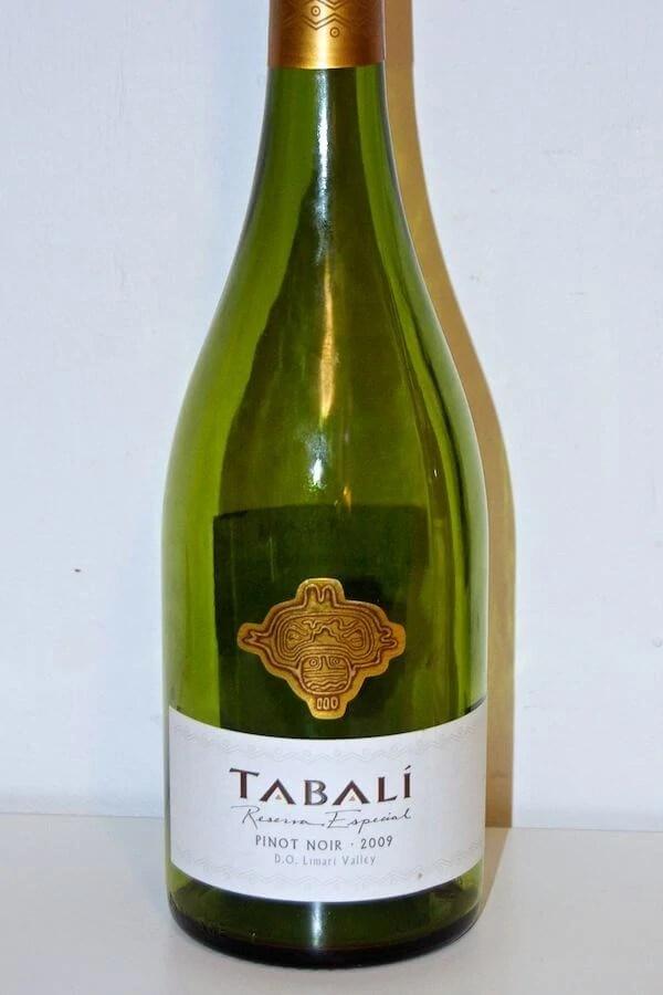 2009 Pinot Noir Tabali fra Chile