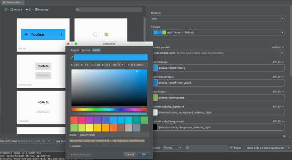Android Theme Editor