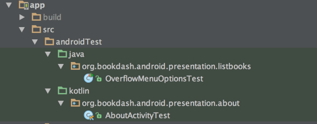 Getting Android Tests set up in Kotlin