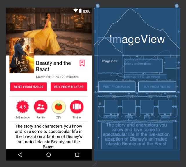 ConstraintLayout Android Example