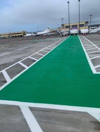 Airfield Lining and Runway Maintenance