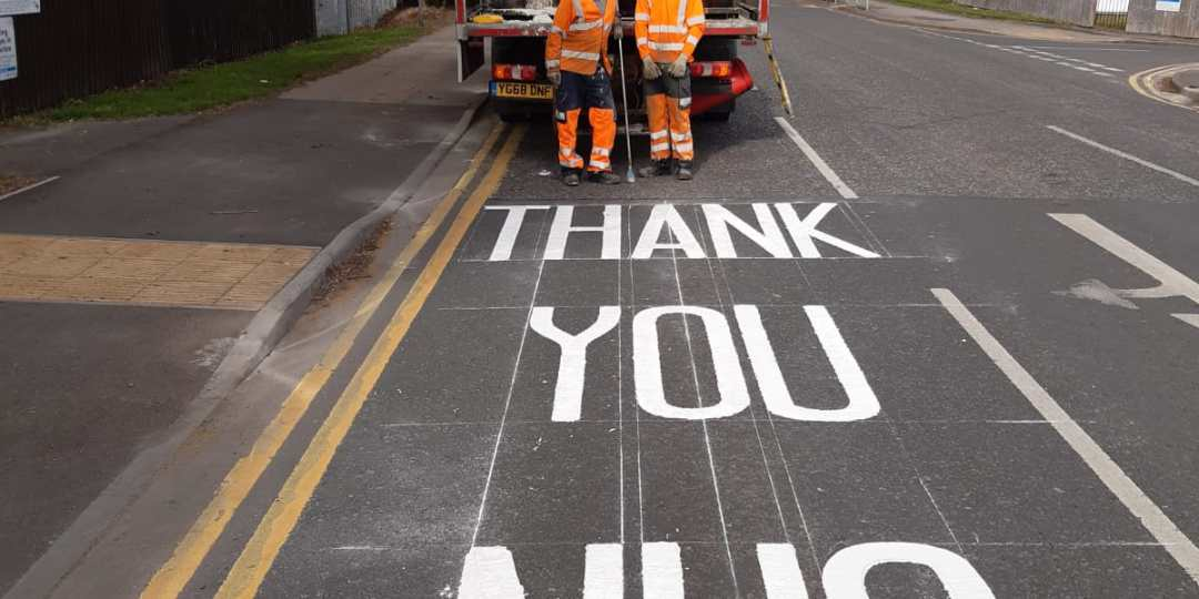 Thanking our NHS with Top Notch Line Markings