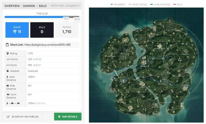 Pubg Lookup Let S You Take A Detailed Look On Your States
