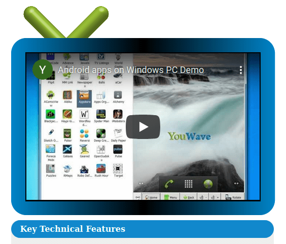 YouWave - Android Emulator - Windows 7/8/8.1/10 PC and Mac