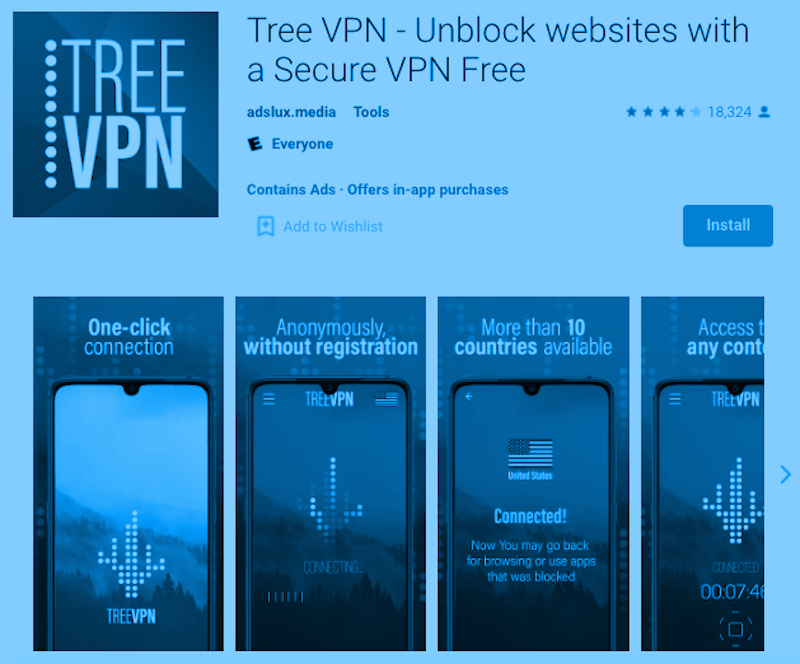Tree VPN for PC - Download FREE Secure VPN - Rightapp4u.com