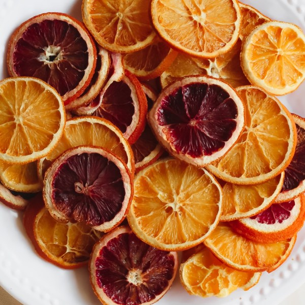 Simple Homemade Dried Citrus