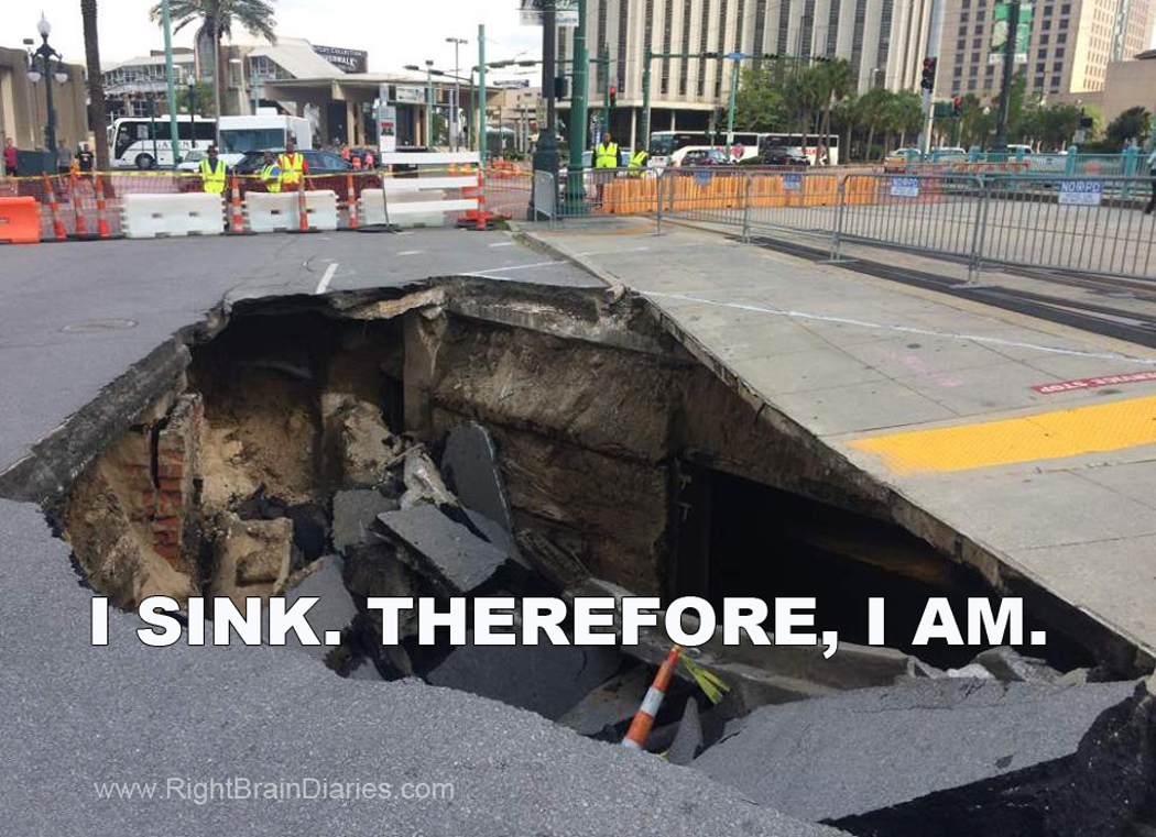sinkhole descartes