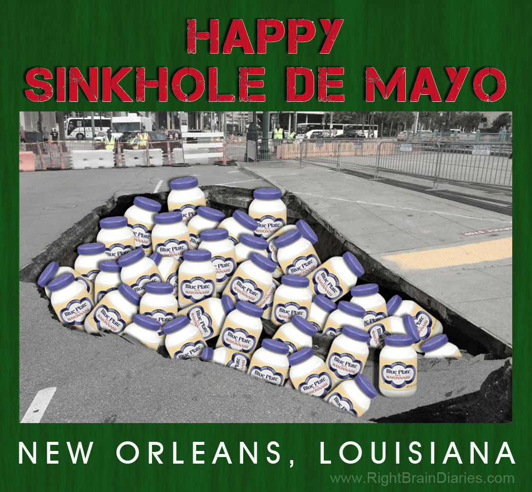 Sinkhole de Mayo, New Orleans style