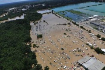 Baton Rouge flooding - U.S. Coast Guard photo