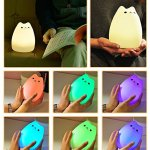 Adorable Cat Night Light