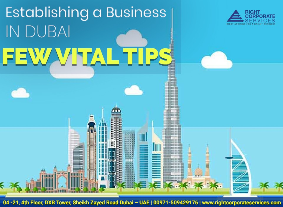 Establishing a Business in Dubai – Few Vital Tips