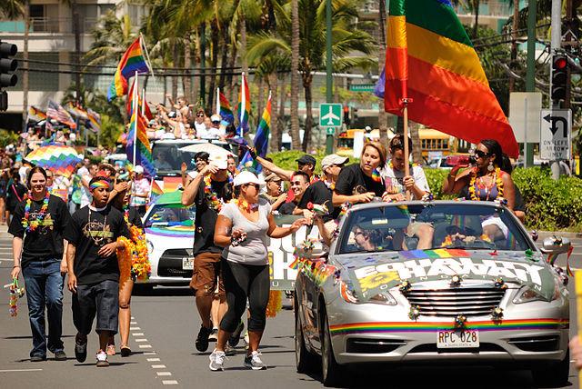Honolulu Pride Parade, 2012, Daniel Ramirez