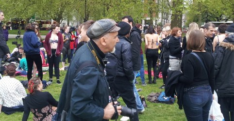 Beach Body Protest, May 2nd 2015, The Right Dishonourable