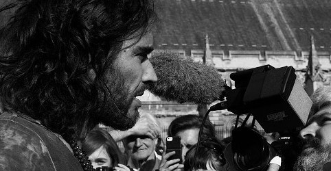 Russell Brand, People's Assembly demonstration, DB Young, 20 June 2014