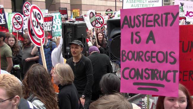 End Austerity Now, 20 June 2015 – Austerity is a Bourgeois Construct