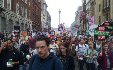 End Austerity Now March, 20 June 2015