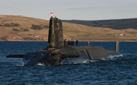 Trident nuclear submarine HMS Victorious, April 2013 by MoD