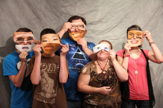 Diversity Masks by George A Spiva Center for the Arts