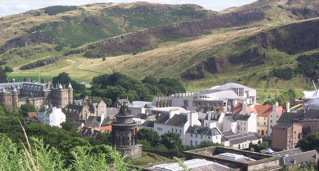 Scottish parliament in Edinburgh by Tharnton345