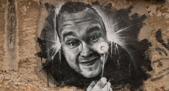 Kim Dotcom portrait, October 2012 via Thierry Ehrmann