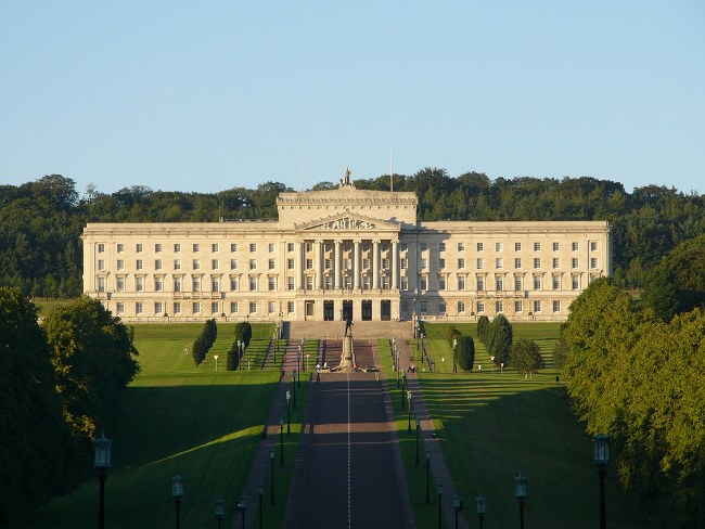 Stormont Parliament Buildings, September 2004 by Robert Young