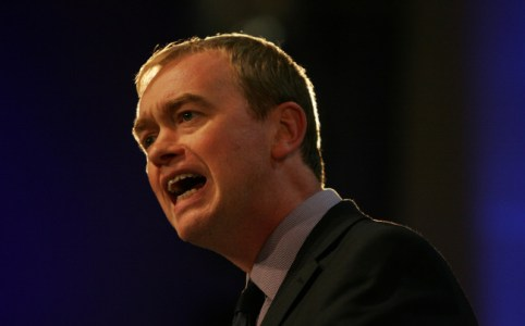 Tim Farron, October 2014 by the Liberal Democrats
