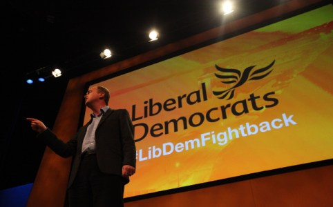 Tim Farron at Lib Dem Conference, September 2015