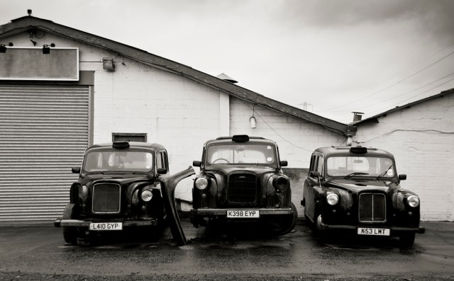 Condemned Taxis, September 2011 by InvernoDreaming