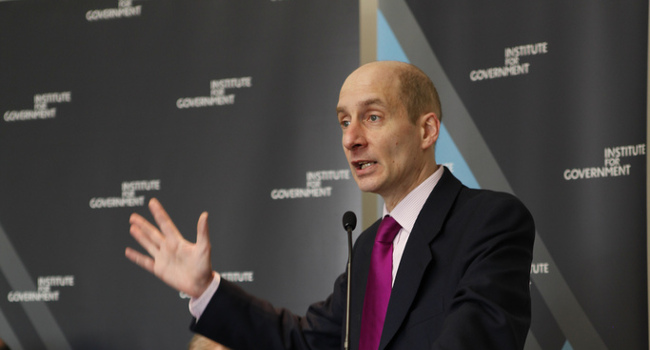 Andrew Adonis, March 2011 by the Institute for Government