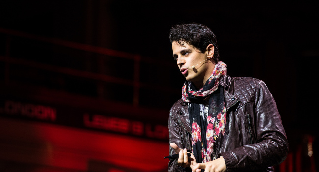 Milo Yiannopoulos, June 2013 by Official LeWeb Photos