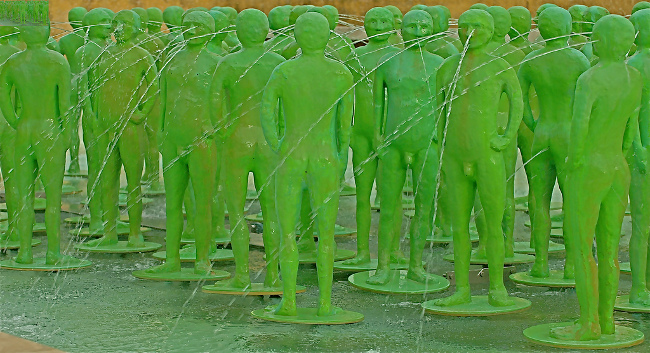 Naked Green Men, September 2007 by Pedro Ribeiro Simoes