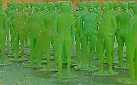 Naked Green Men, September 2007 by Pedro Ribeiro Simoes