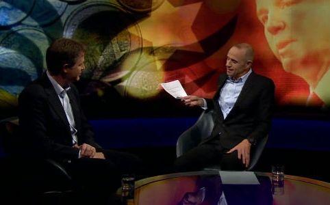 Nick Clegg and Evan Davis, October 2015 by Newsnight