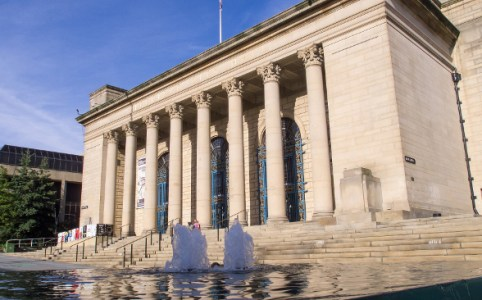Sheffield City Hall, October 2012 by Ed Webster