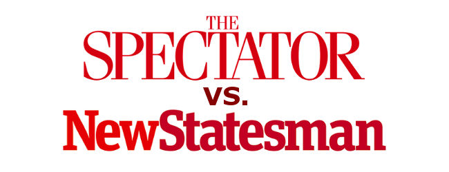 Spectator vs New Statesman