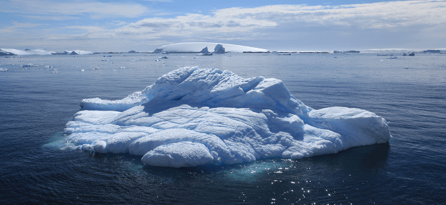Iceberg in Antarctica, January 2011 by Liam Quinn