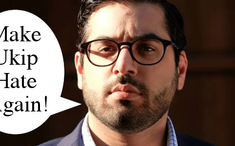 Raheem Kassam Make Ukip Hate Again