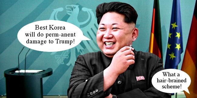 Kim Jong Un Perm Threat